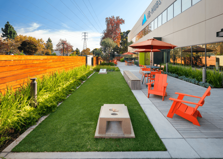 US City Campus Lawn Mobile
